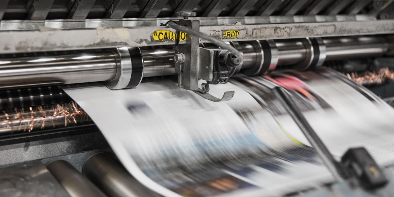 Milieu impact van printen