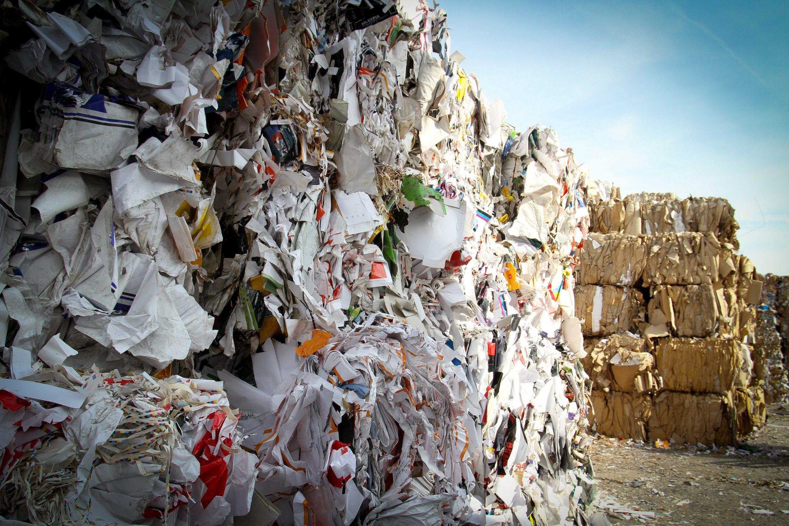 Papier stortplaats