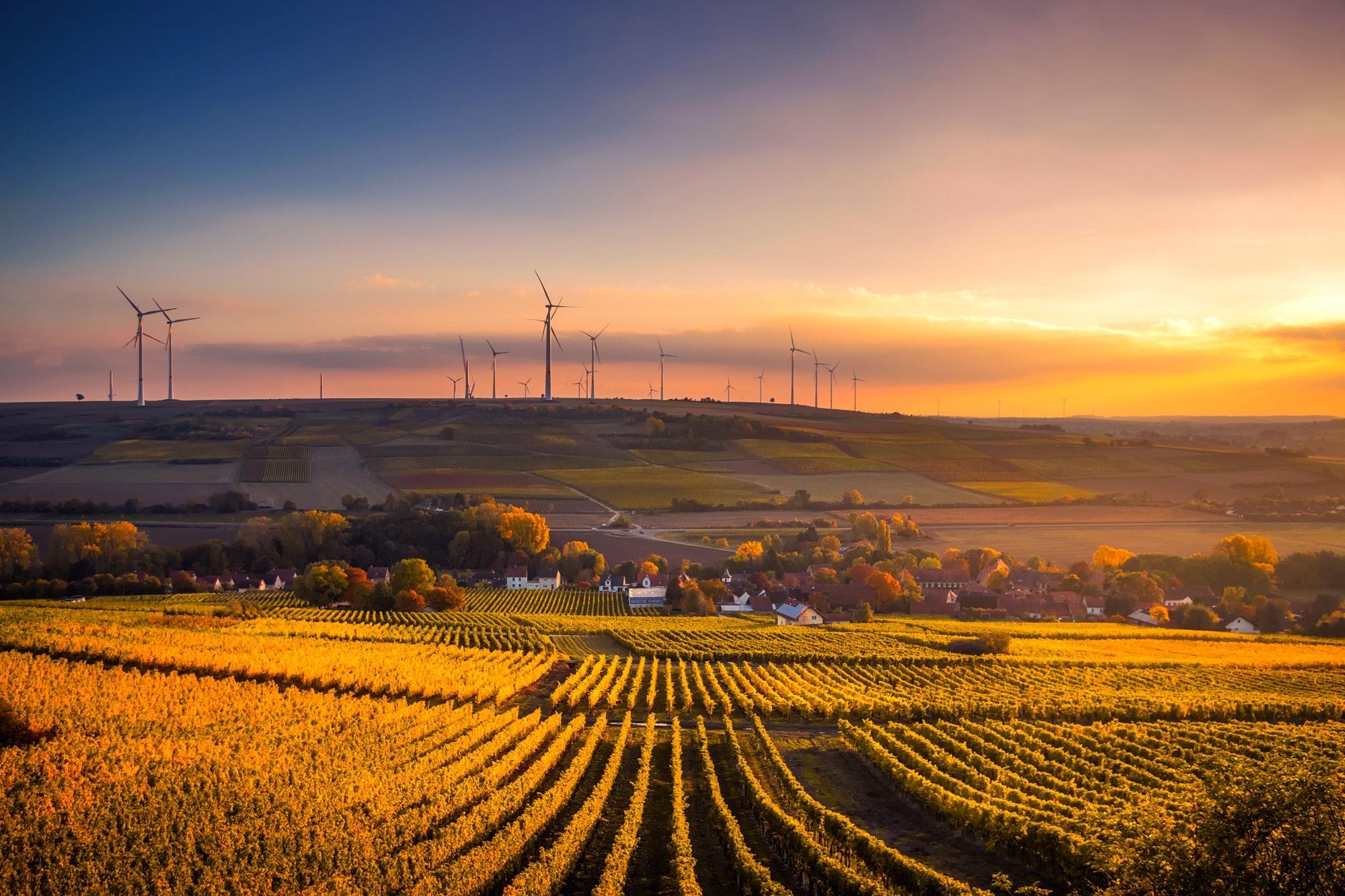 Duurzame windmolens